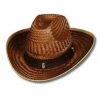 Deluxe Straw Western Hat